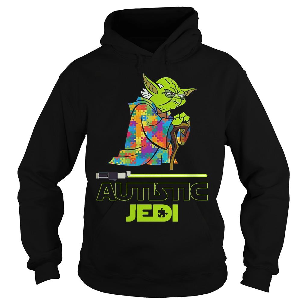 Yoda autism star war autistic jedi Hoodie