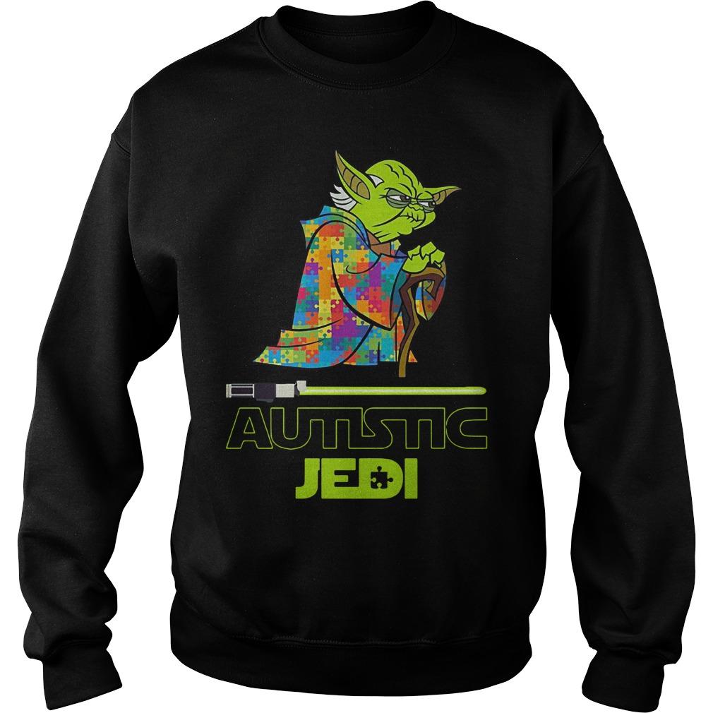 Yoda autism star war autistic jedi Sweater