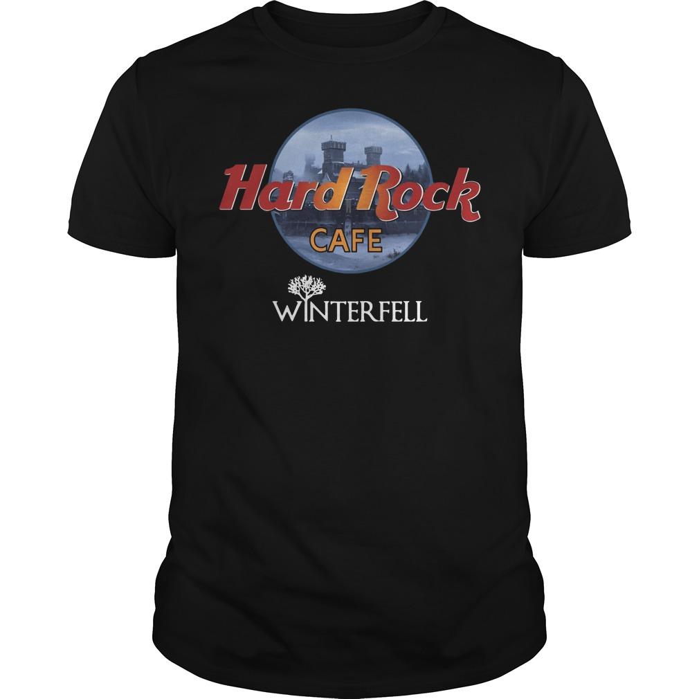 Hard rock cafe winterfell Guys t-shirt
