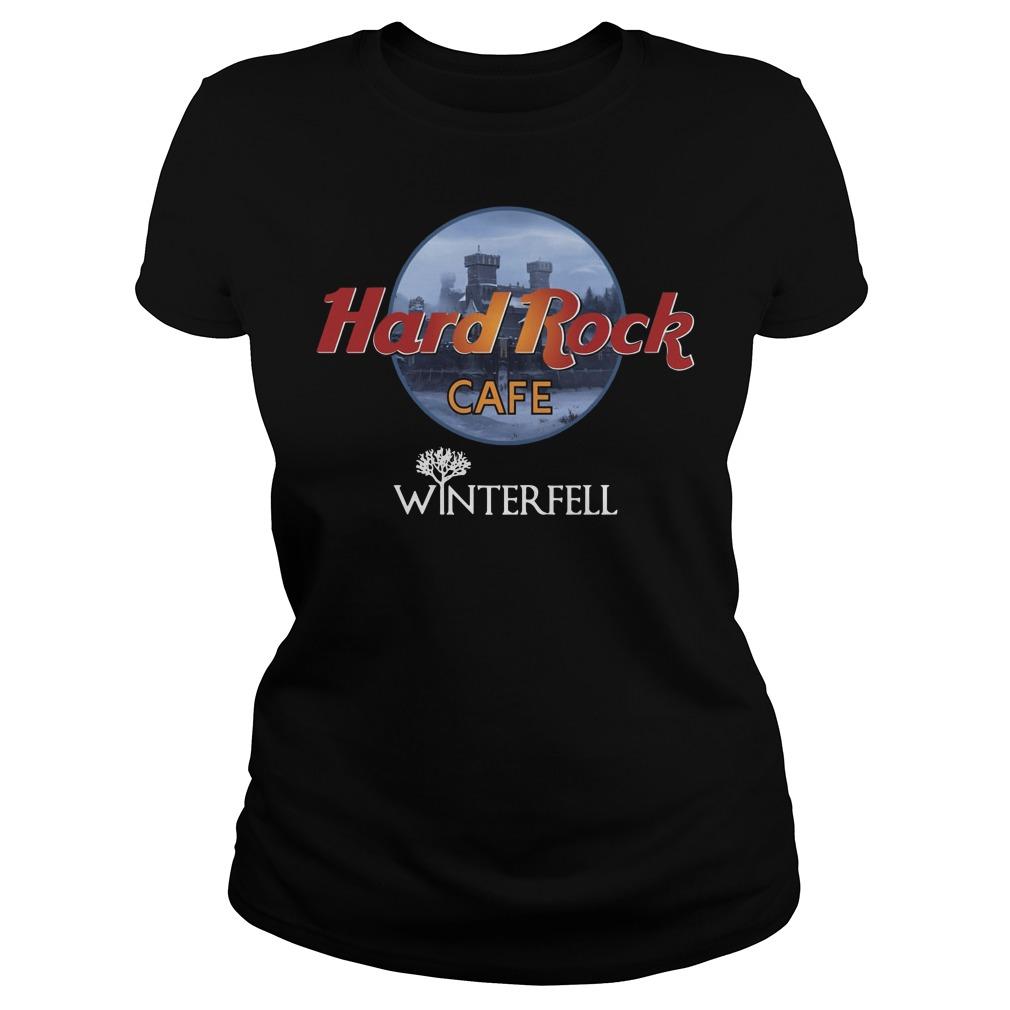 Hard rock cafe winterfell Ladies t-shirt