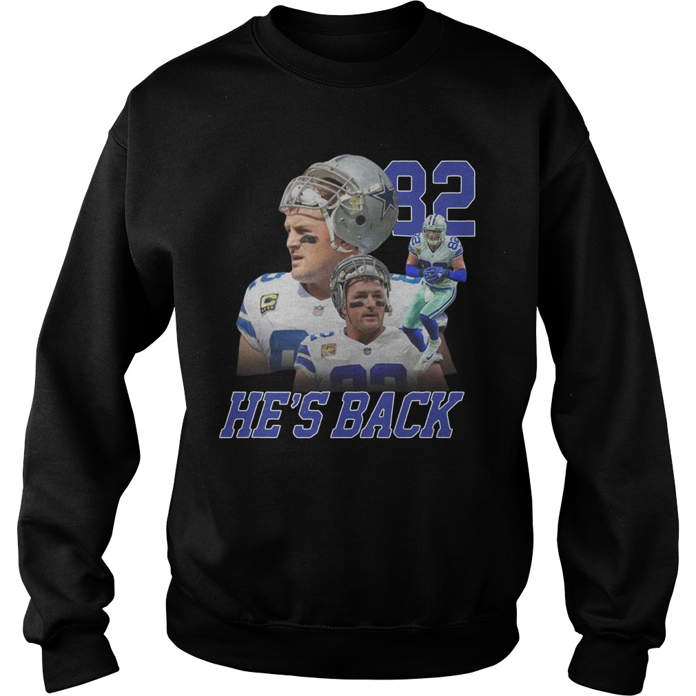Jason Witten Dallas Cowboys 82 he's back Sweater