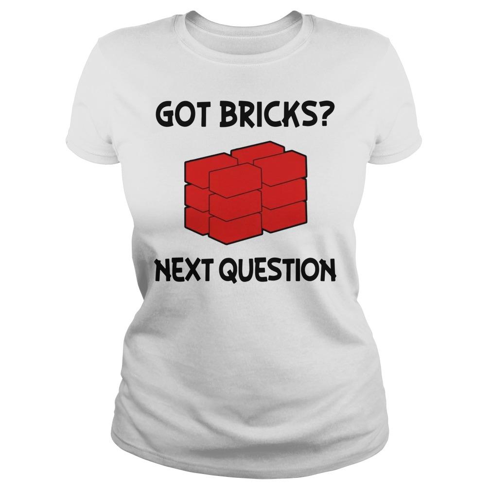 Jusuf Nurkic Got Bricks Next Question Ladies t-shirt