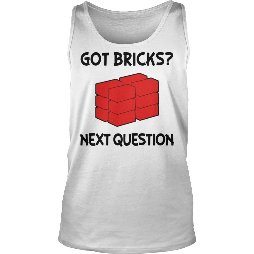 Jusuf Nurkic Got Bricks Next Question Tank top