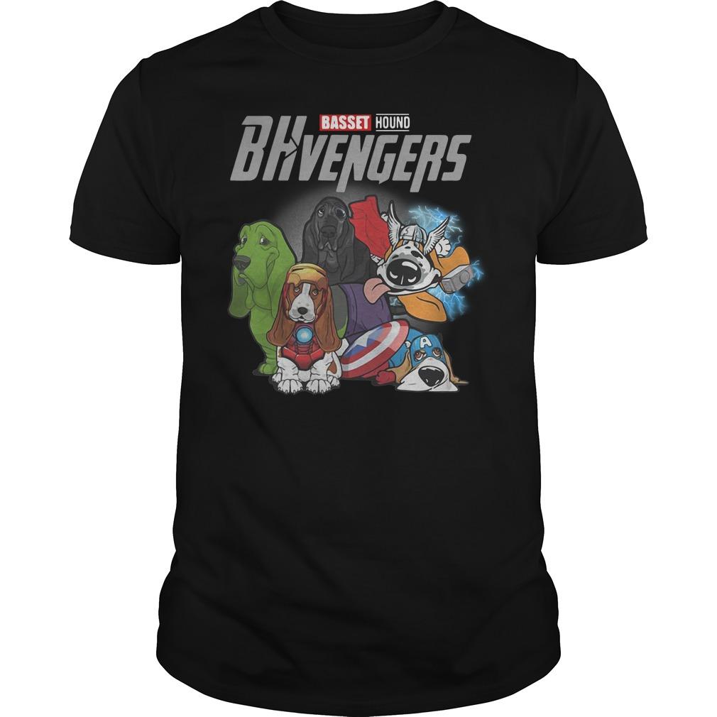 Marvel Avenger Basset Hound Bhvengers Guys t-shirt