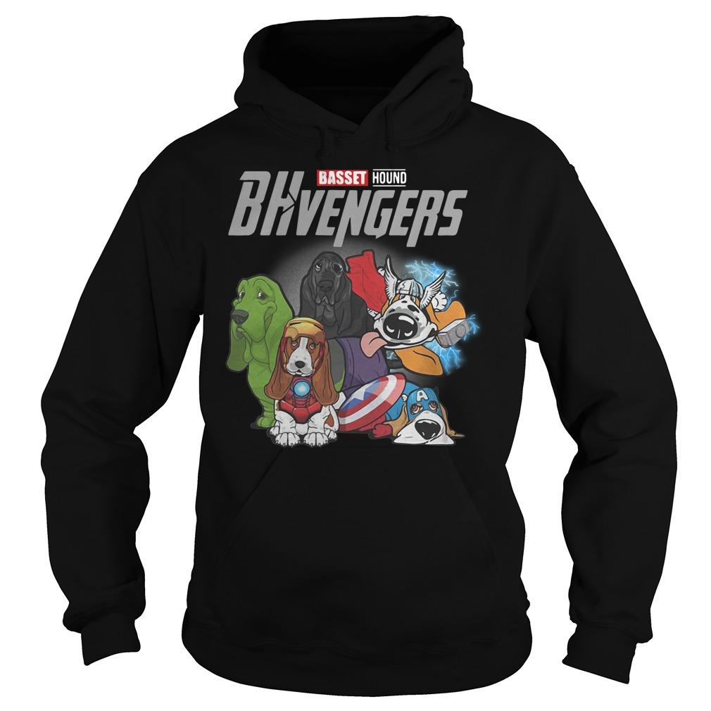 Marvel Avenger Basset Hound Bhvengers Hoodie
