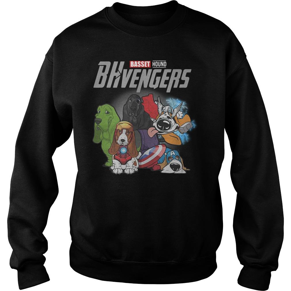 Marvel Avenger Basset Hound Bhvengers Sweater