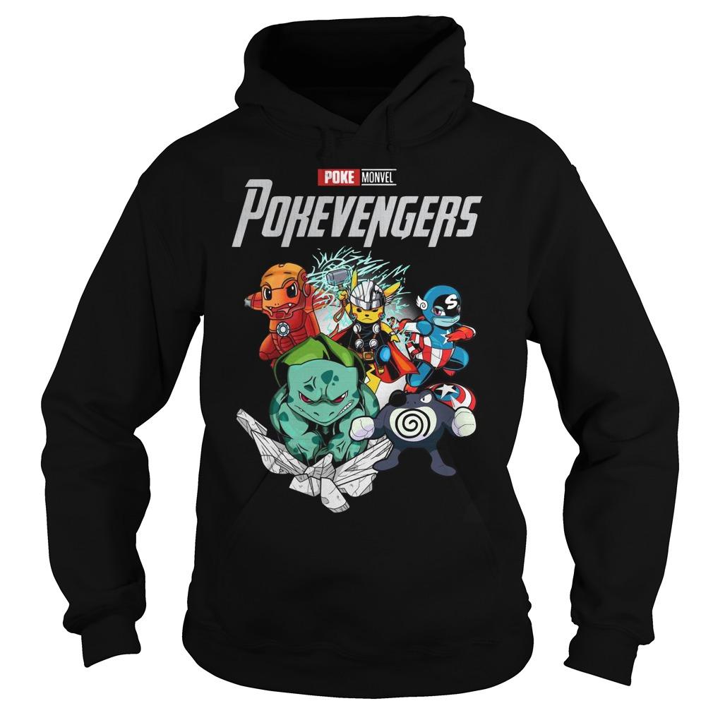 Marvel Avengers Poke Monvel Poke Avengers Hoodie