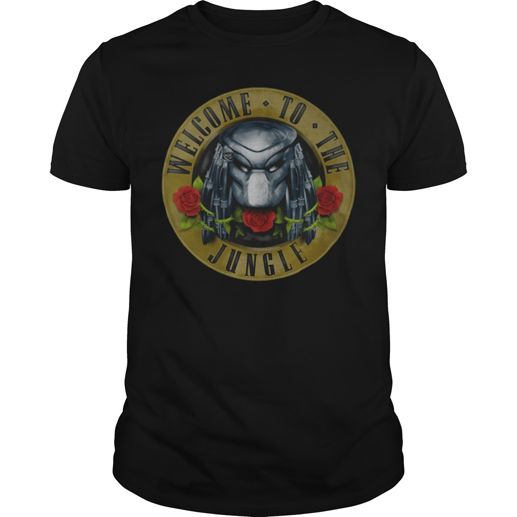 Predator Welcome To The Jungle Guys t-shirt