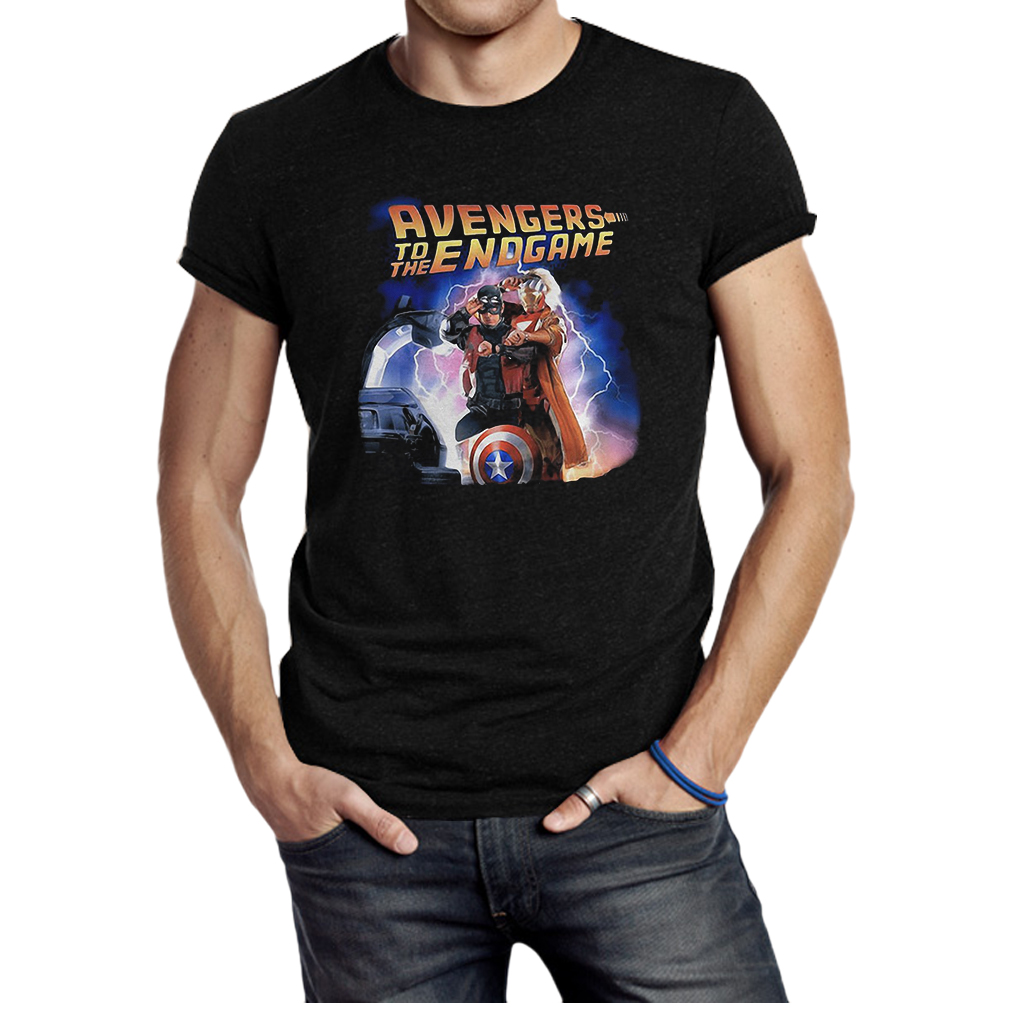 Back to the Future Avengers to the Endgame shirt