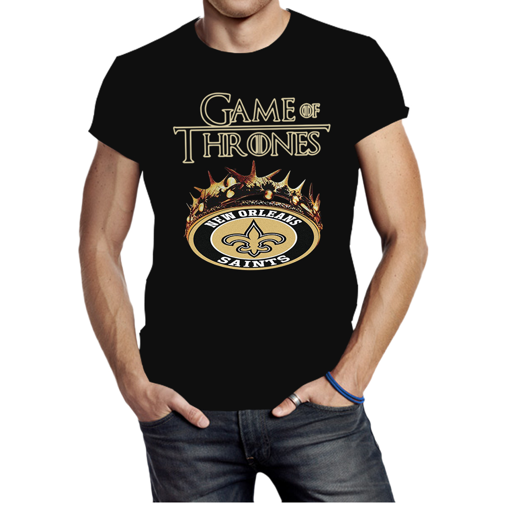 Game of Thrones New Orleans Saints shirt
