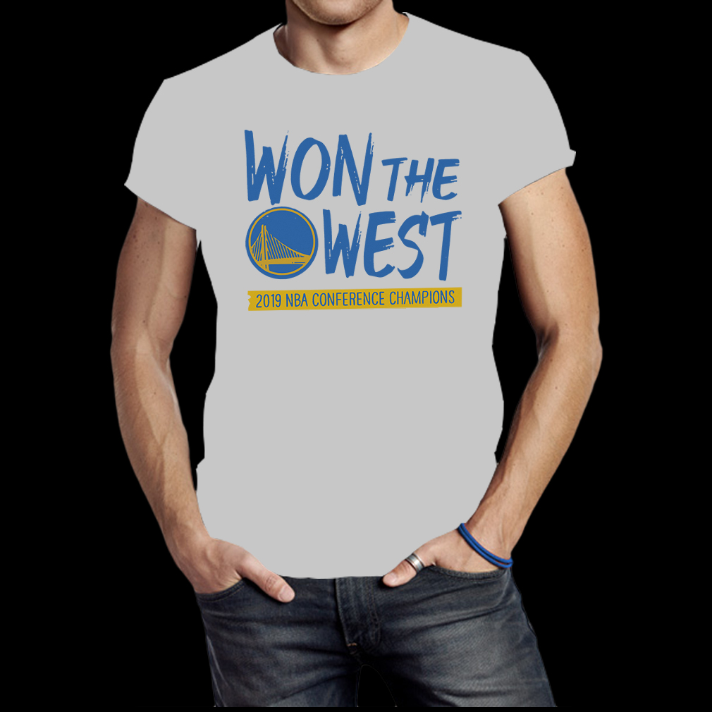 Golden state warriors won the west 2019 NBA conference champions