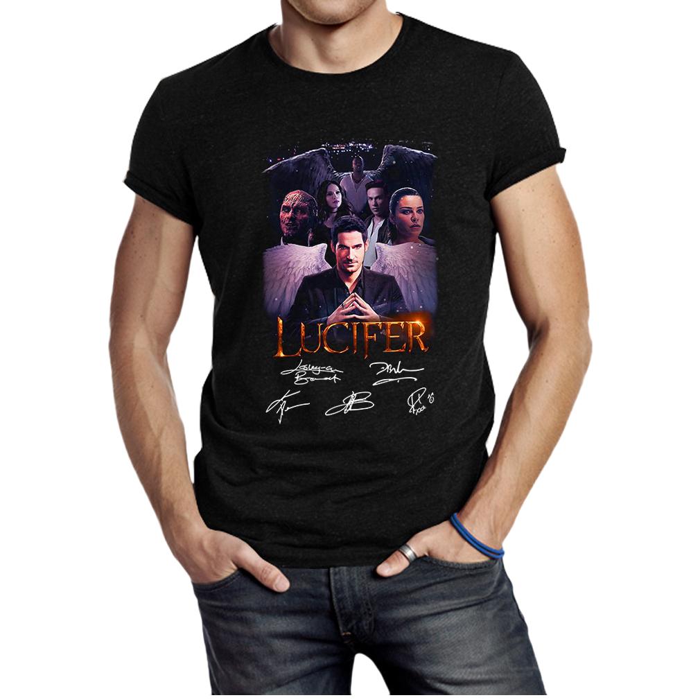 Lucifer signature shirt