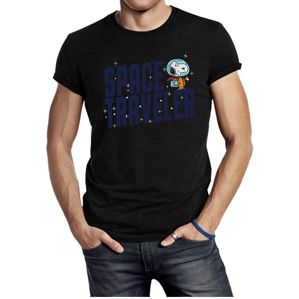 Snoopy space traveler shirt