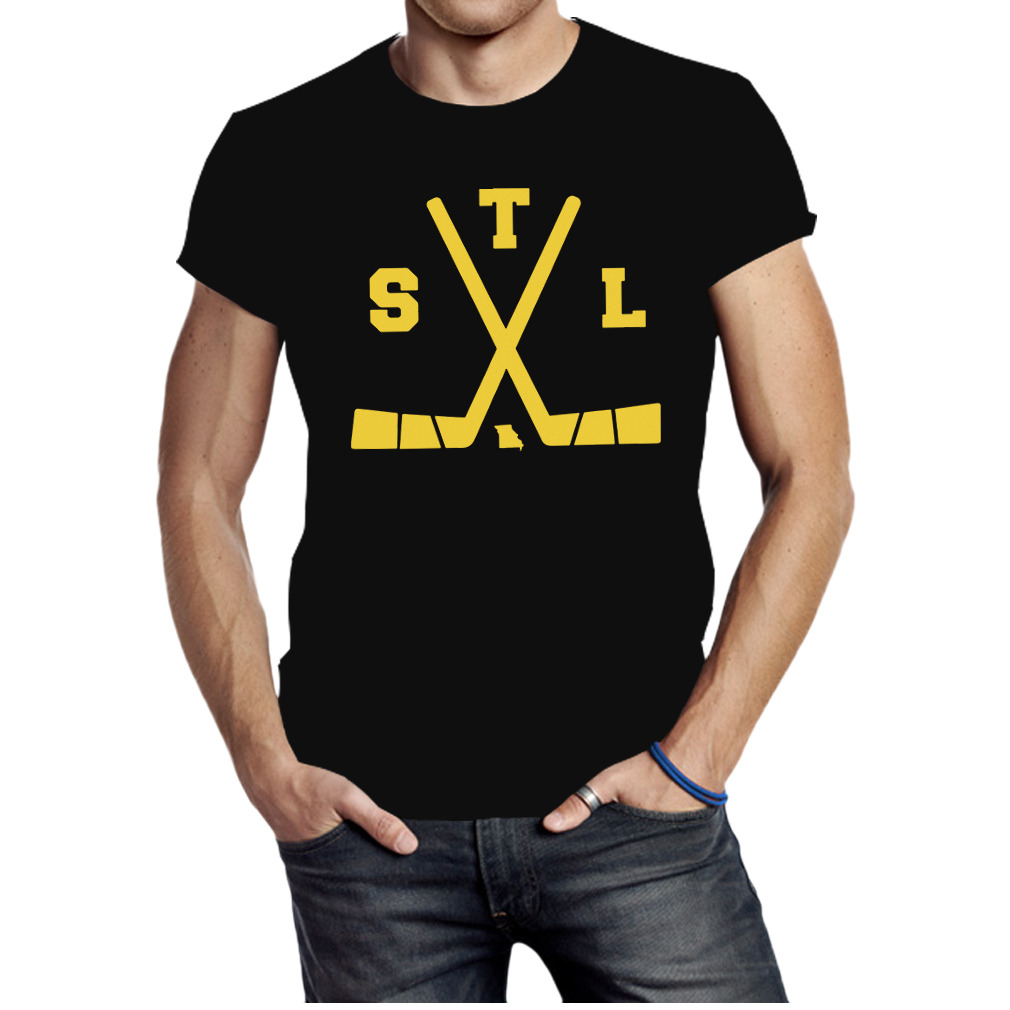 St Louis Ice Hockey State Outline shirt