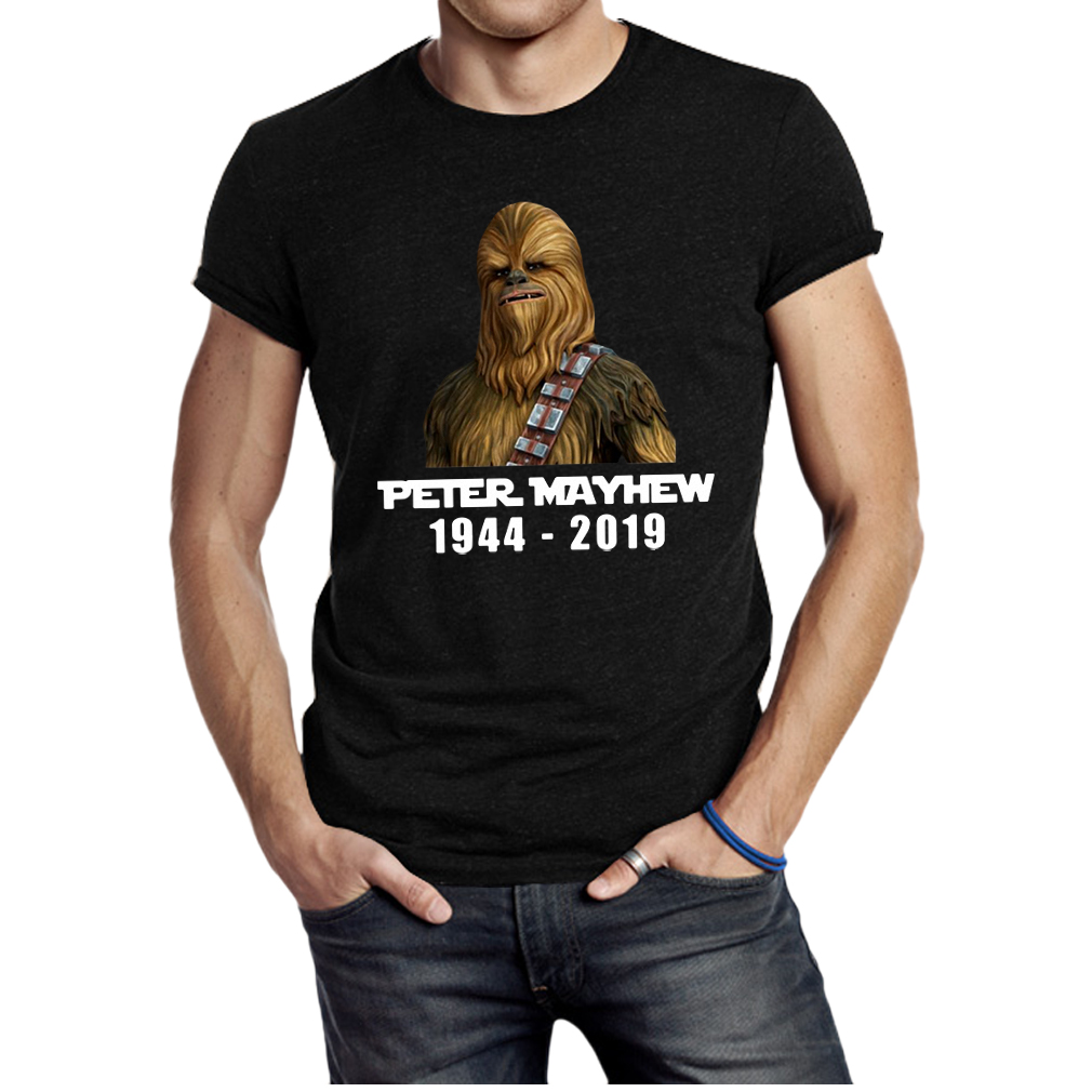 Star war Chewbacca Peter Mayhew 1944 2019 shirt