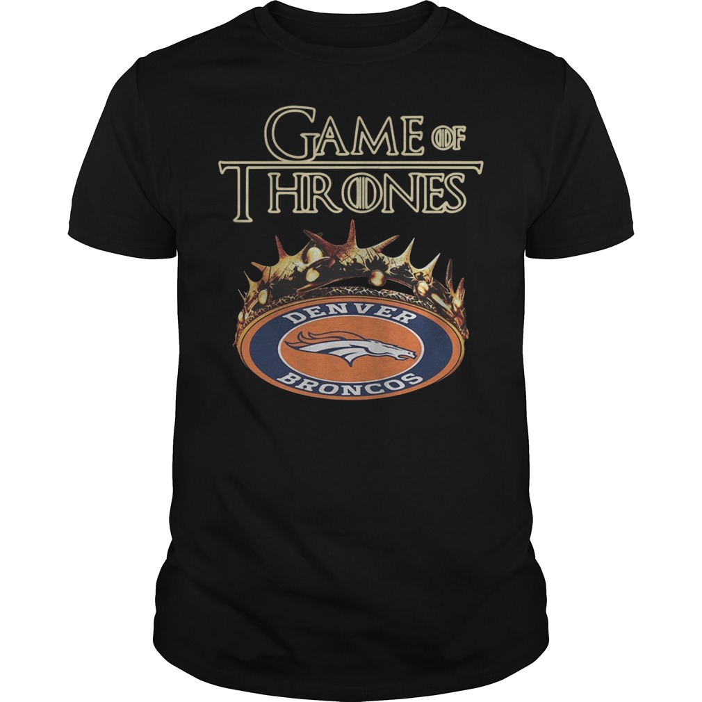 Game of Thrones Denver Broncos shirt