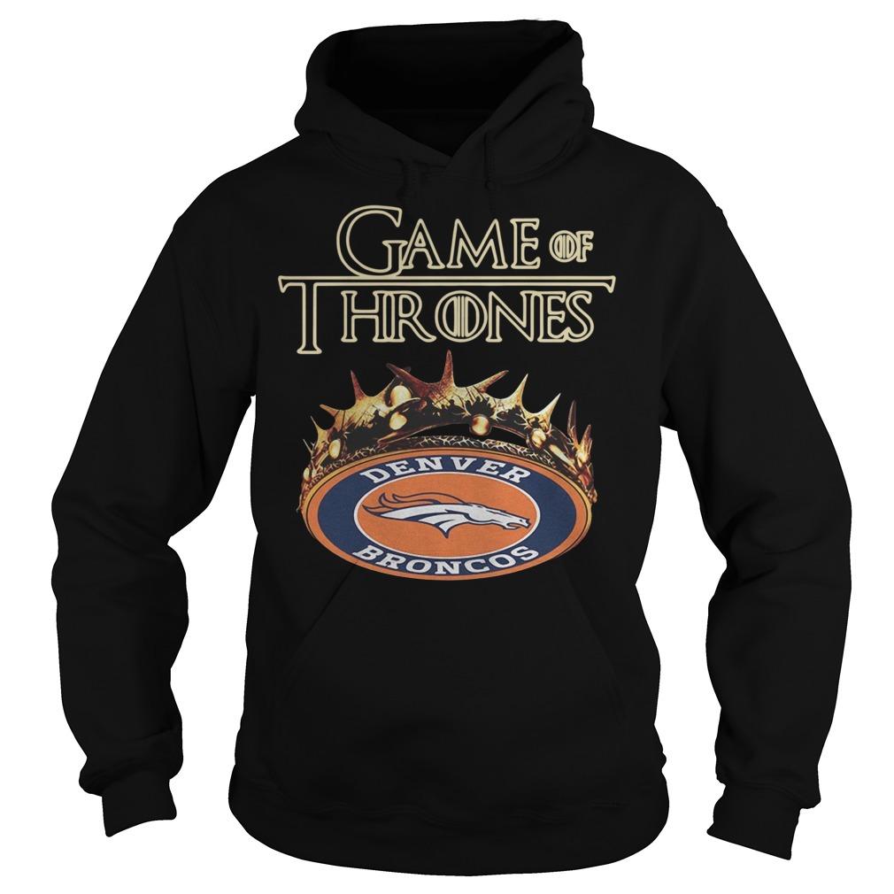Game of Thrones Denver Broncos Hoodie