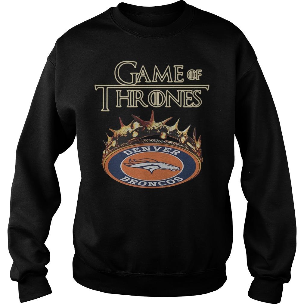 Game of Thrones Denver Broncos Sweater