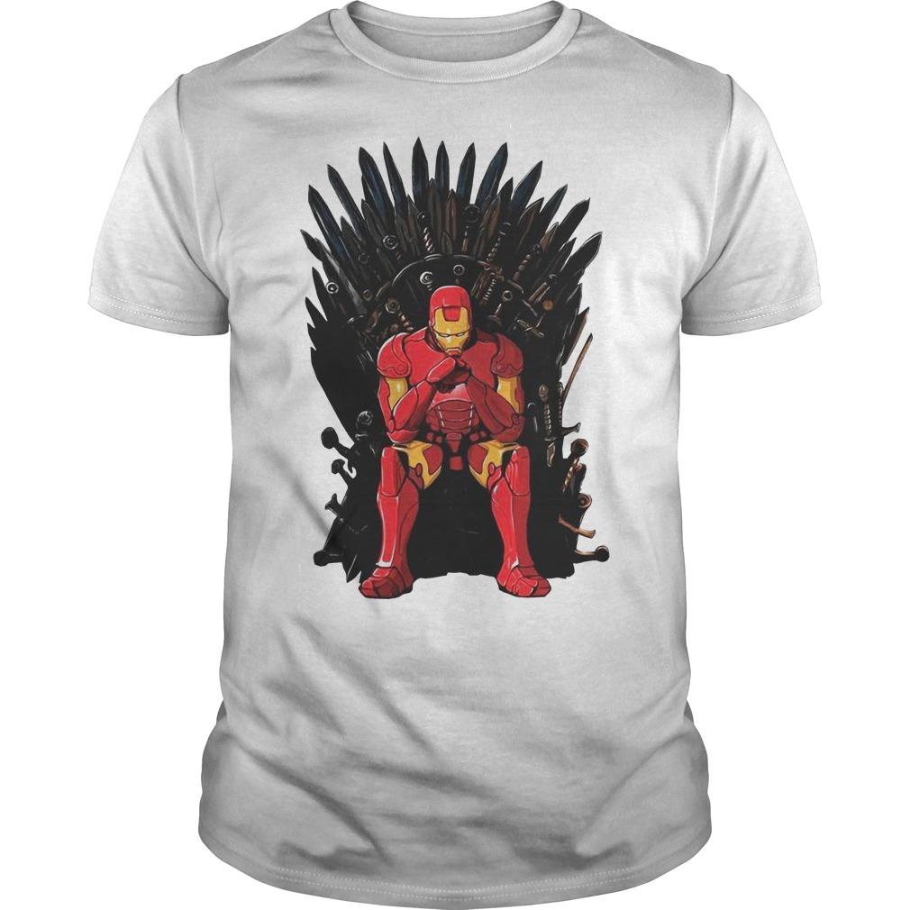 Game Of Thrones I am Iron Man Endgame Guys t-shirt