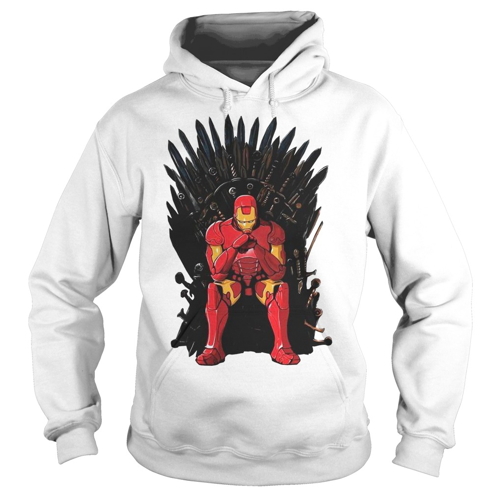 Game Of Thrones I am Iron Man Endgame Hoodie