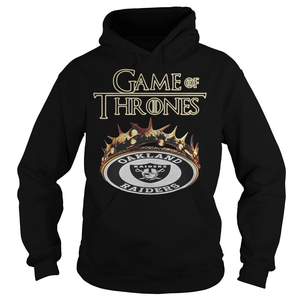 Game of Thrones Oakland Raiders Hoodie