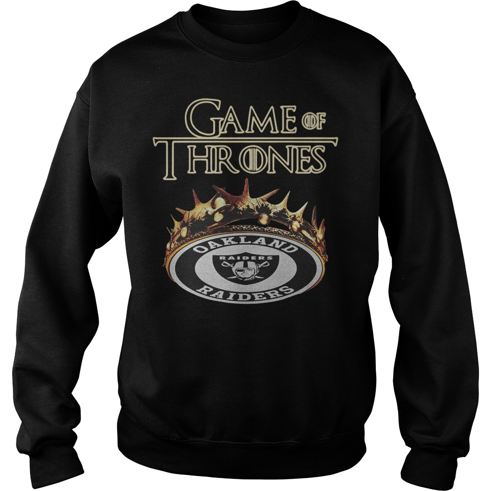 Game of Thrones Oakland Raiders Sweater