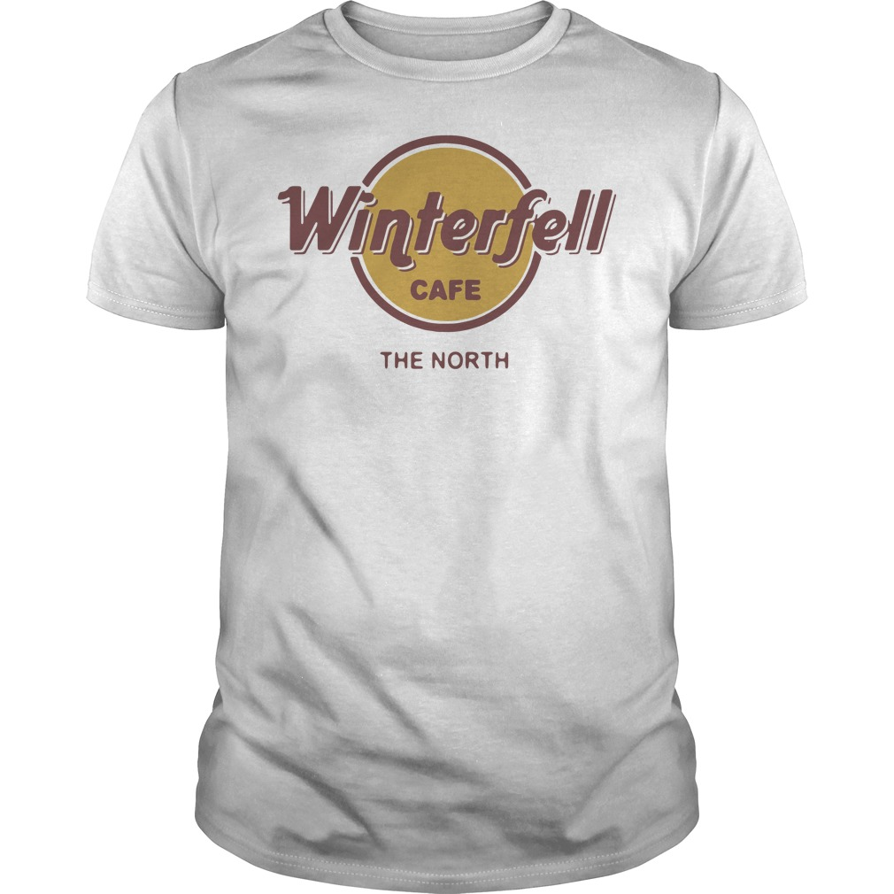 Game Of Thrones Winterfell Cafe The North Guys t-shirt