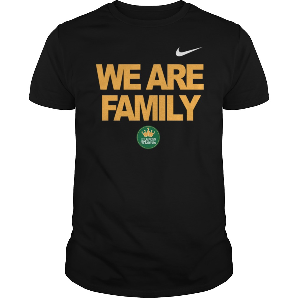 Lebron James we are family Guys t-shirt