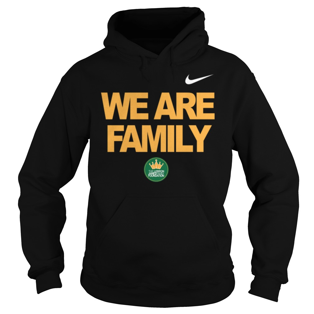 Lebron James we are family Hoodie