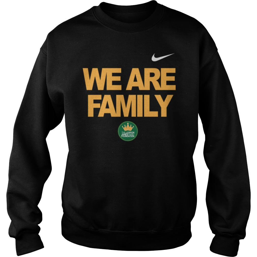 Lebron James we are family Sweater