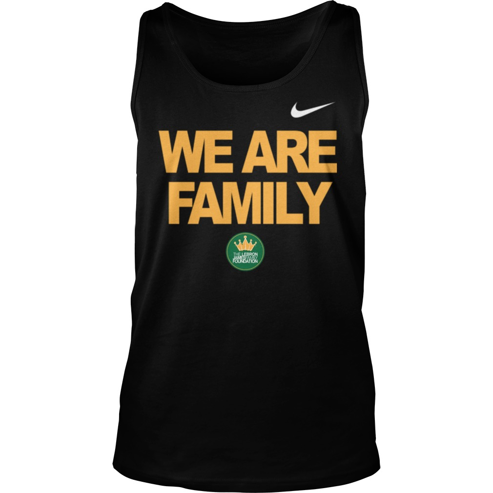 Lebron James we are family Tank top
