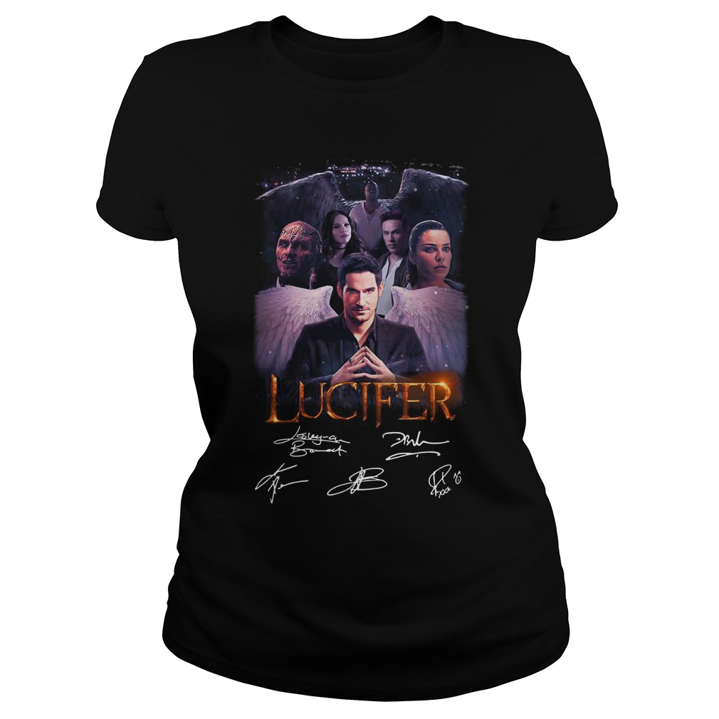 Lucifer signature Ladies t-shirt