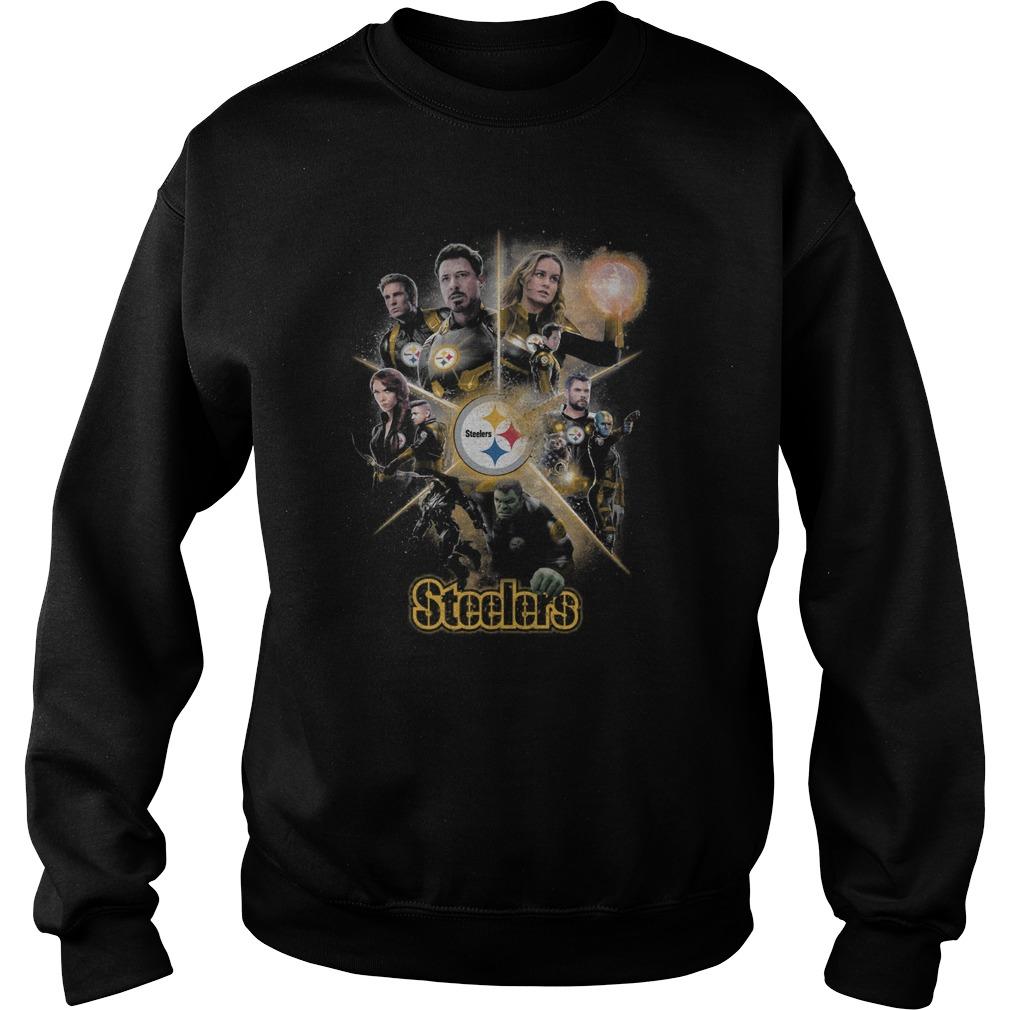 Marvel Avengers Endgame Steelers Sweater