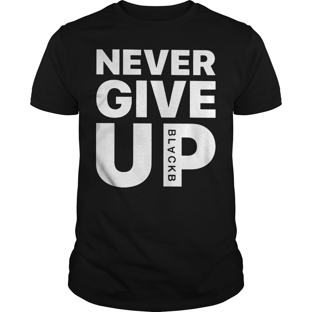 Mohamed Salah Never Give Up Guys t-shirt