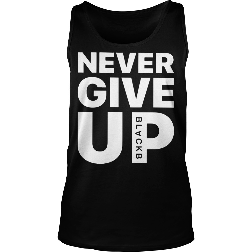 Mohamed Salah Never Give Up Tank top