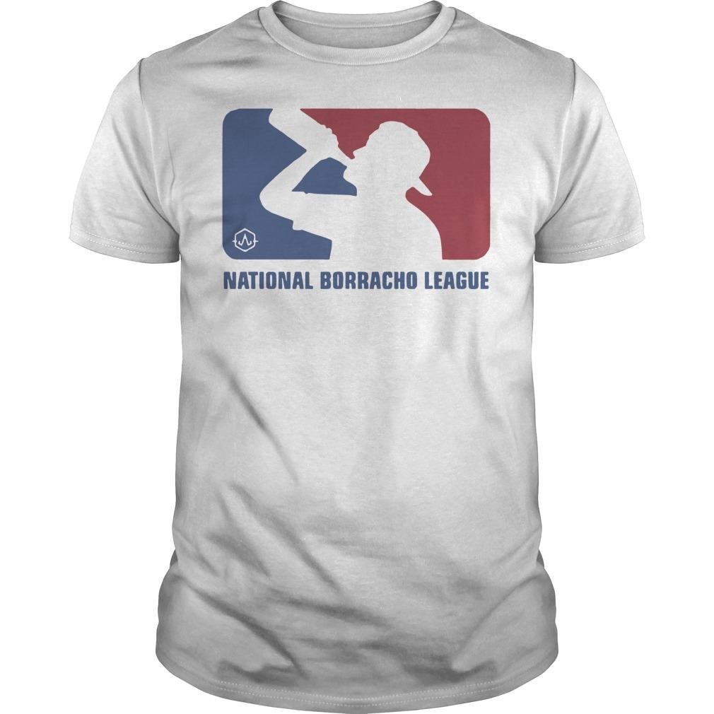 National borracho league Guys t-shirt