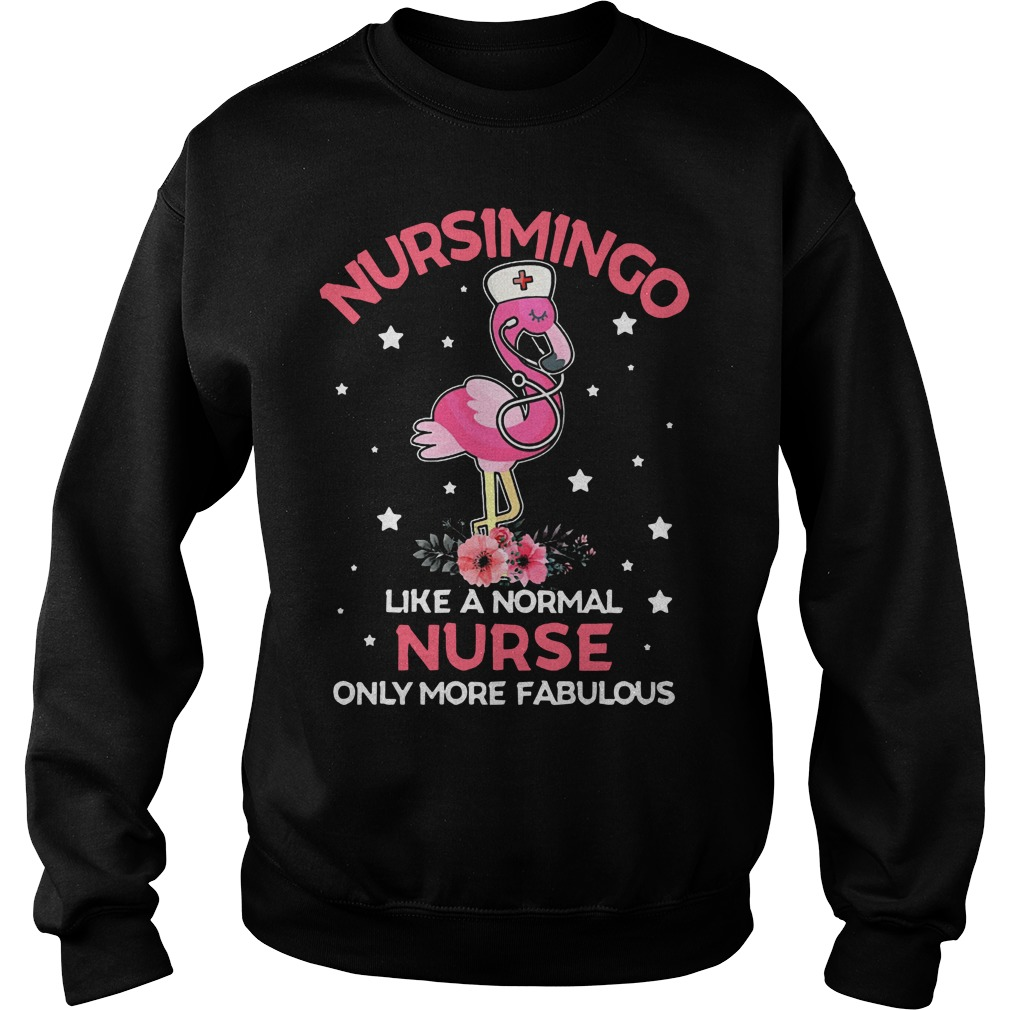 Nucsimingo like a normal nurse only more fabulous Sweater
