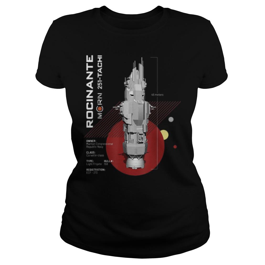 Rocinante 251 tachi Ladies t-shirt
