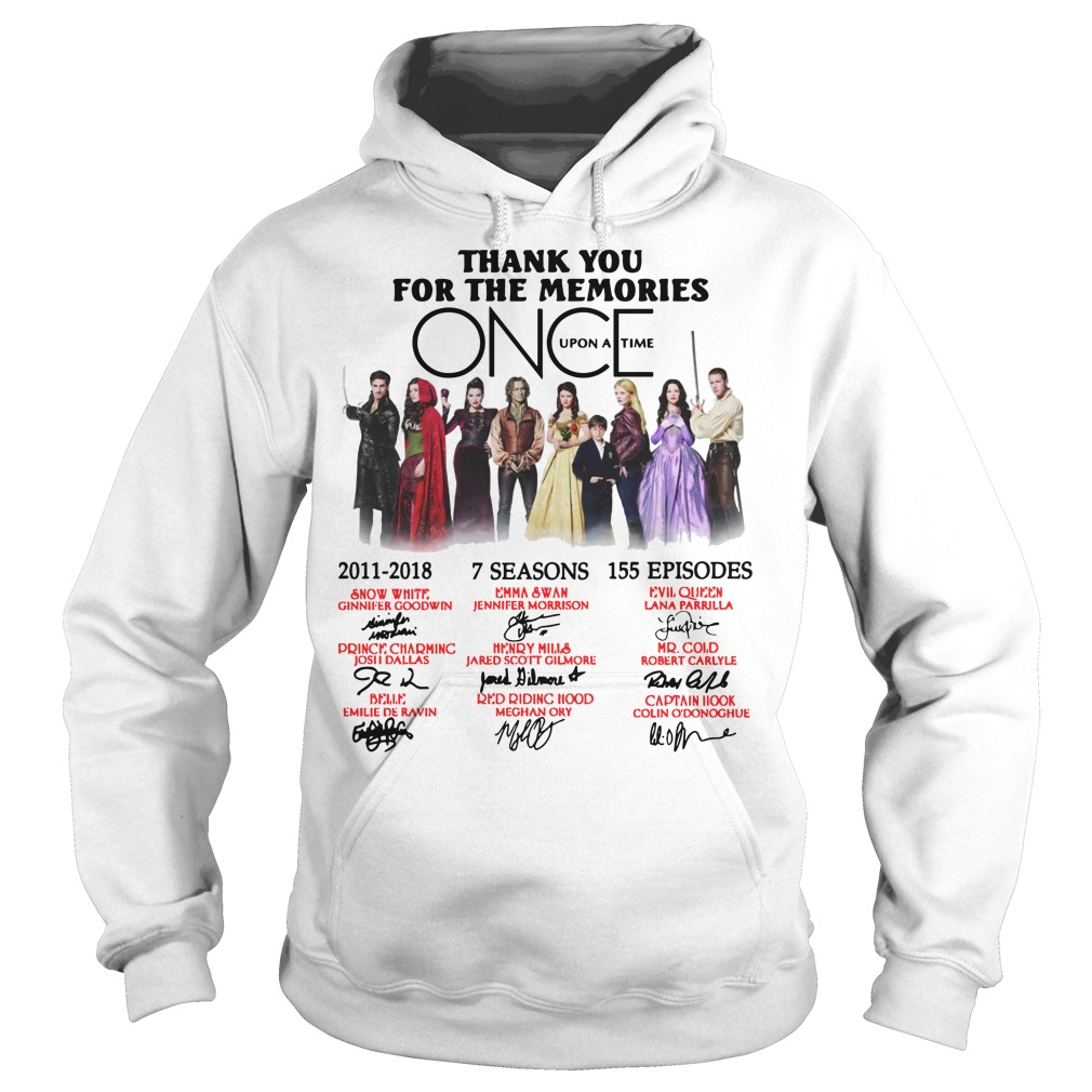 Thank you for the memories Once Upon a Time Hoodie