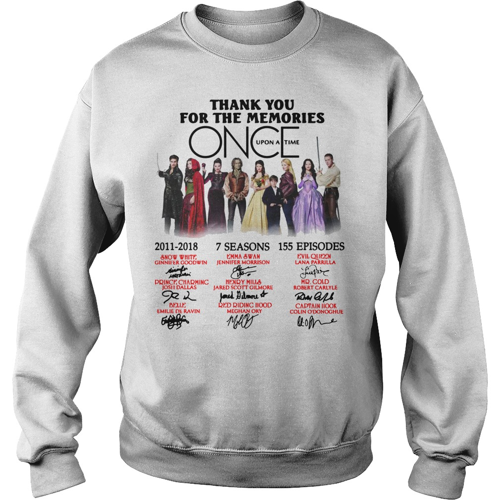 Thank you for the memories Once Upon a Time Sweater
