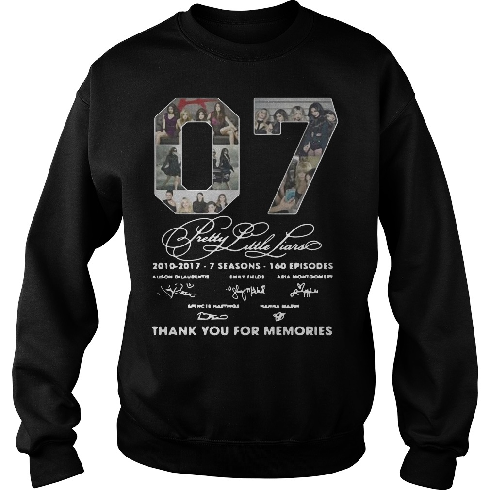 07 Pretty Little Liars Thank You For Memories Sweater
