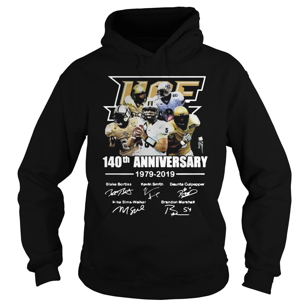 140th Ucf anniversary 1979 2019 signature Hoodie