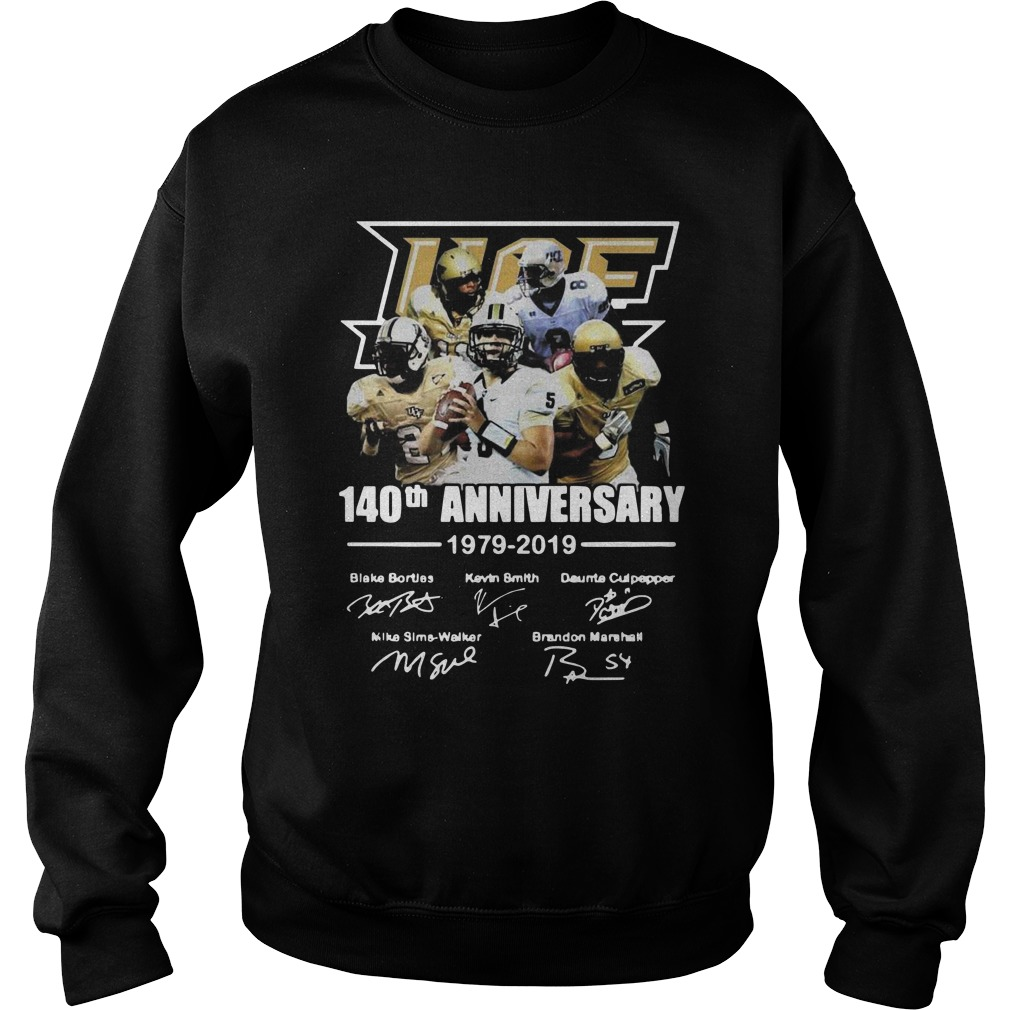 140th Ucf anniversary 1979 2019 signature Sweater
