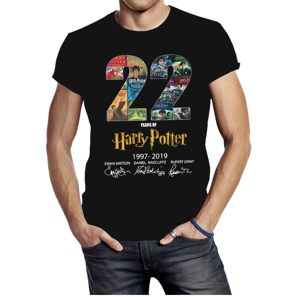 22 years of Harry Potter 1997 2019 signature shirt