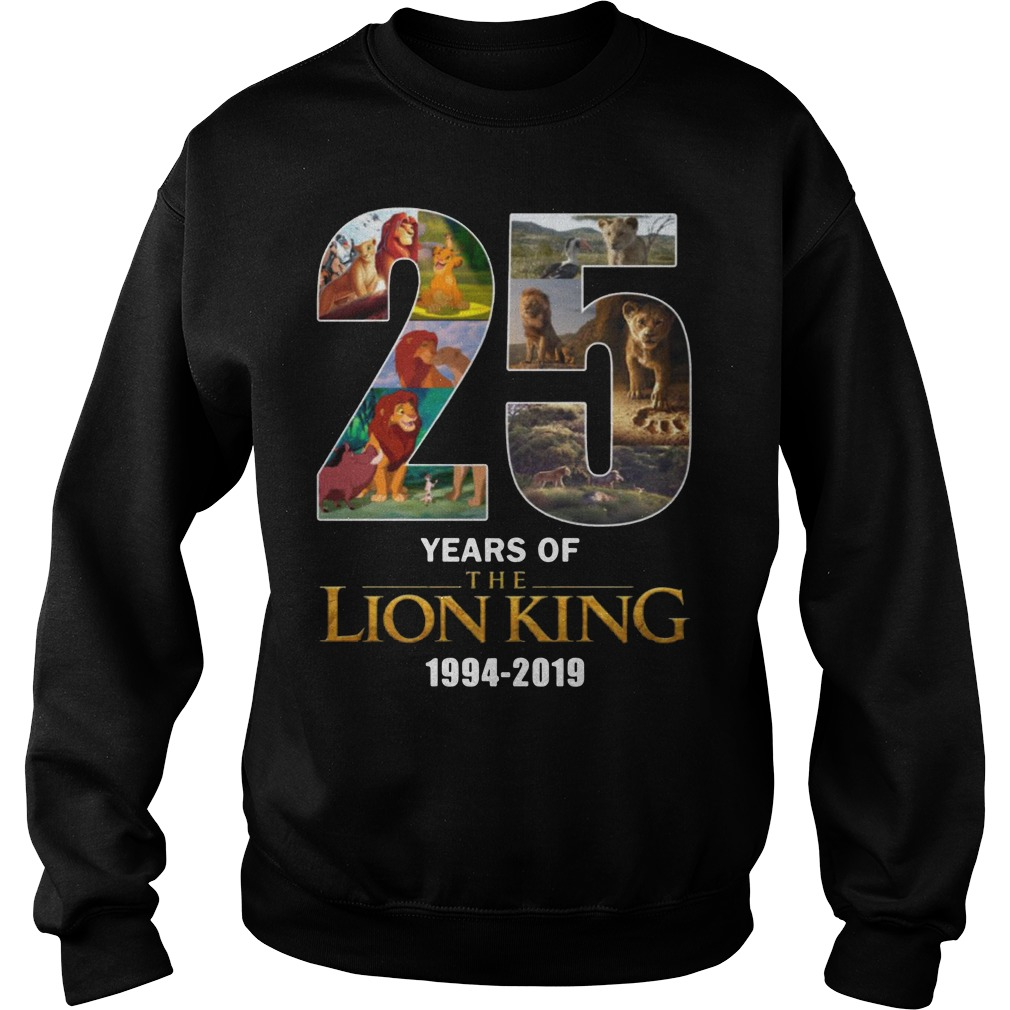 25 Years Of Lion King 1994-2019 Sweater