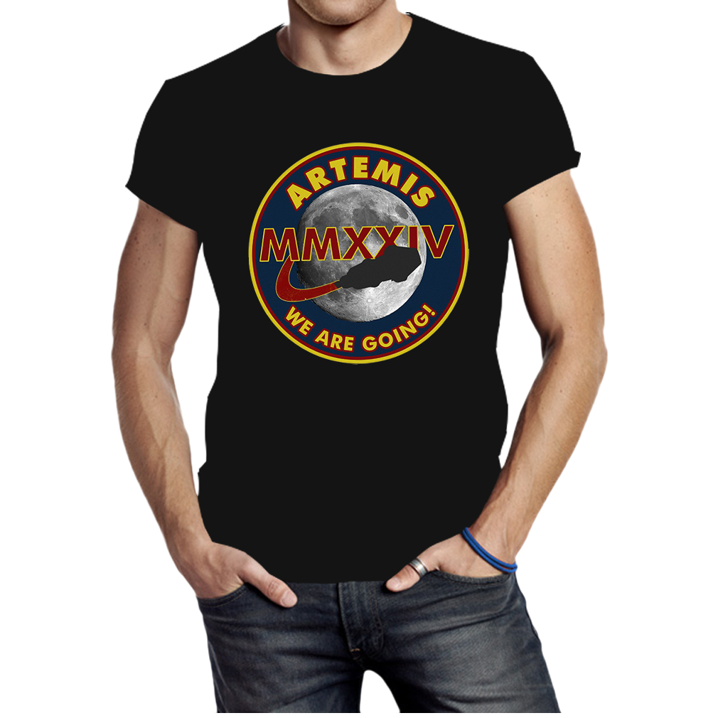 Artemis We Are Going Moon Mission 2024 Nasa MMXXIV shirt