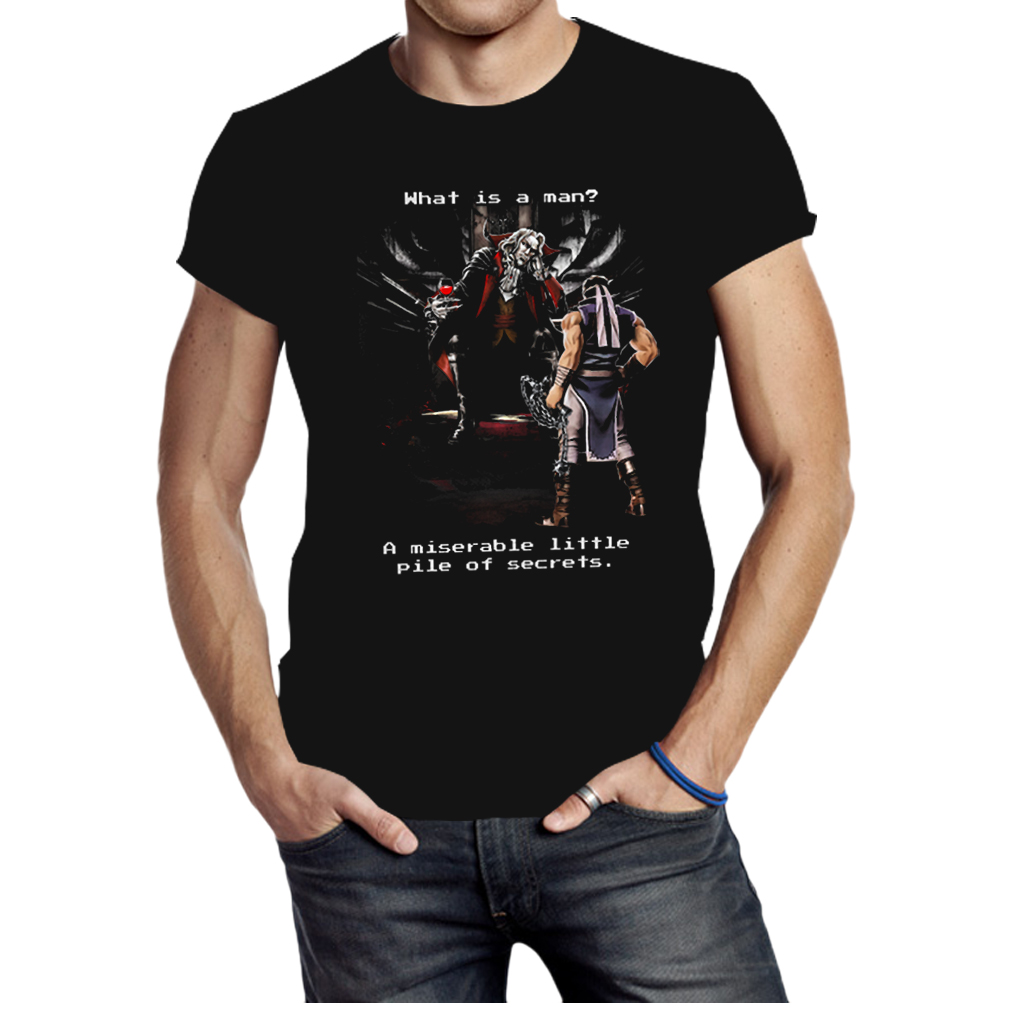 Castlevania what is a man a miserable little pile of secrets shirt