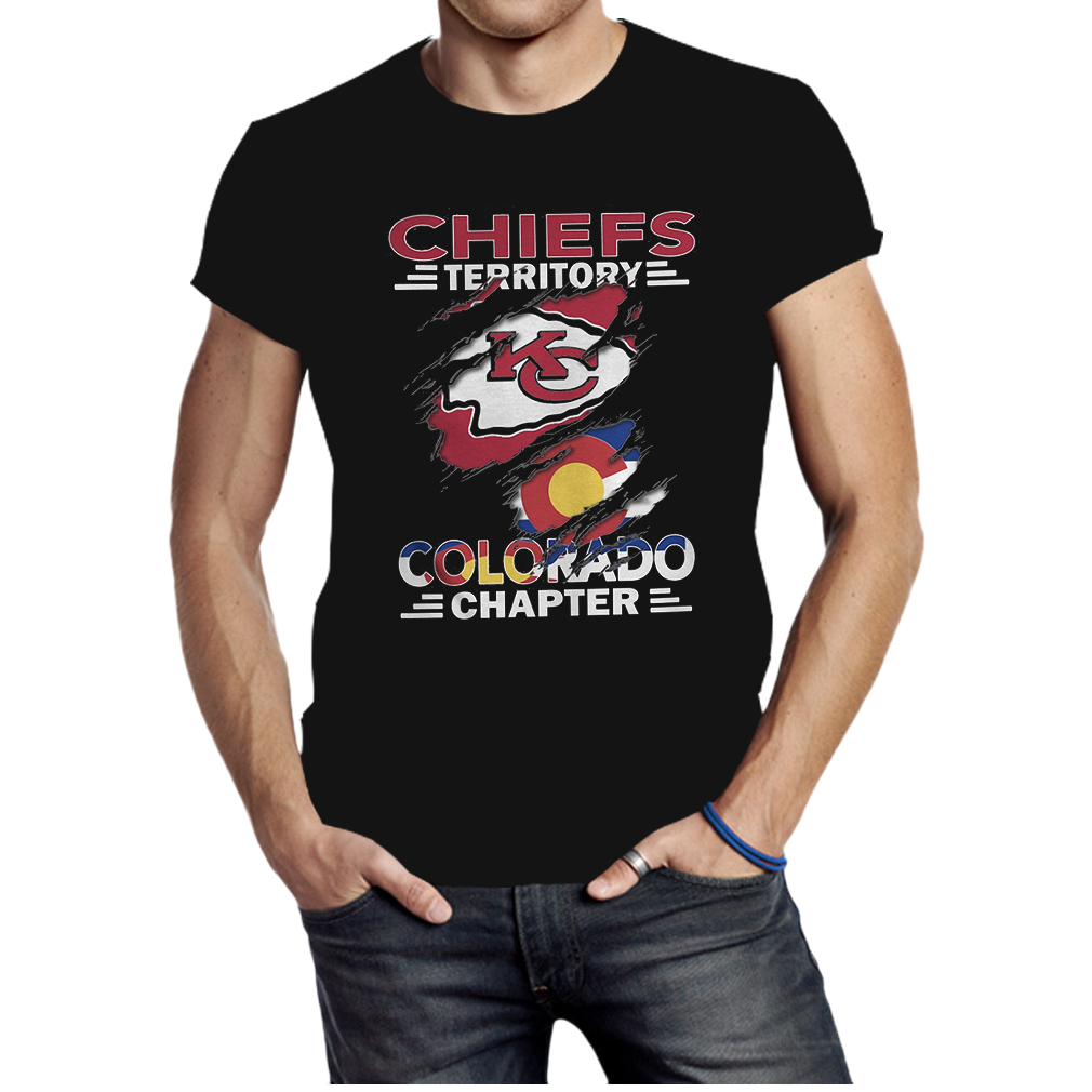 Chiefs territory kc colorado chapter shirt