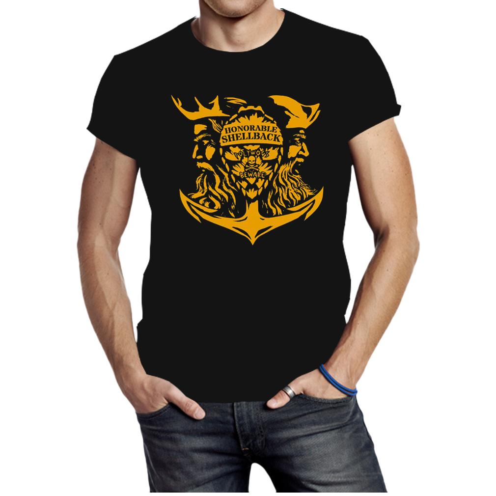 Honorable Shellback Polywogs Beware shirt