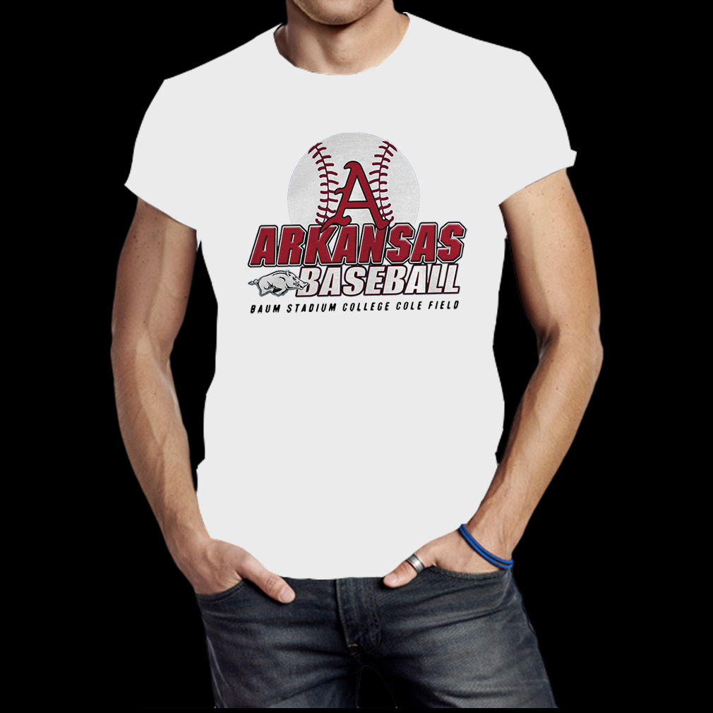 Omahogs arkansas baum stadium college baseball world series shirt